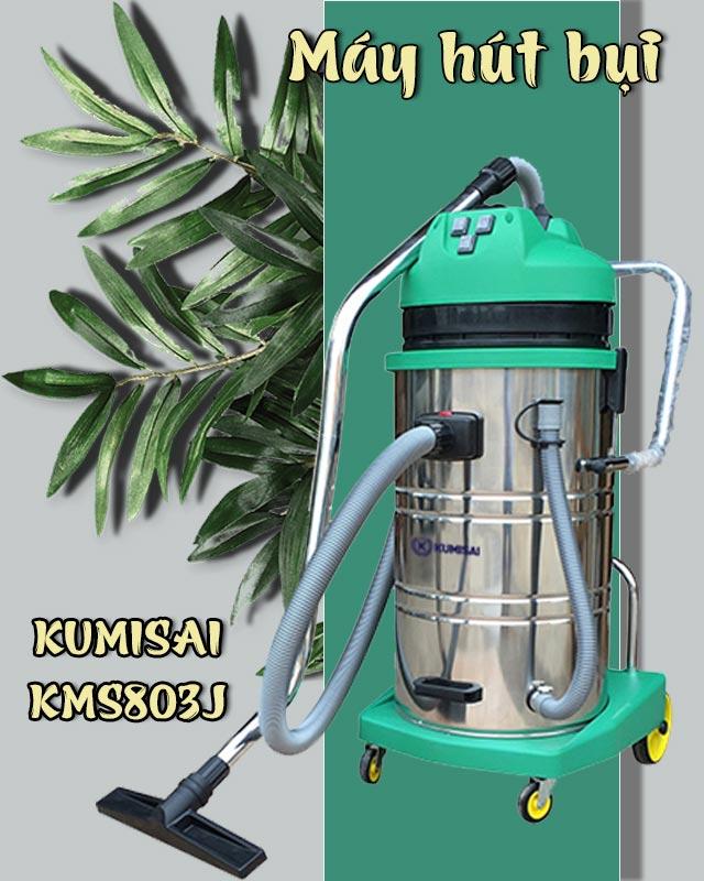 Máy hút bụi công nghiệp Kumisai KMS803J