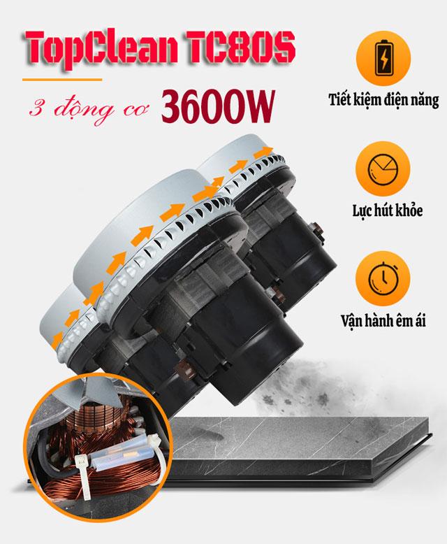 Máy hút bụi TopClean TC80S