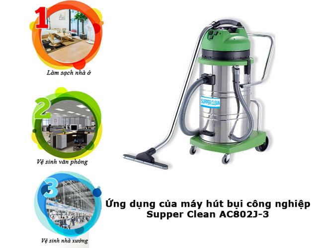 Supper Clean AC802J-3 có ứng dụng rất đa dạng