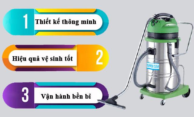 Những ưu điểm thu hút khách hàng của Supper Clean AC802J-3