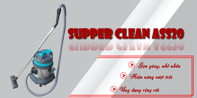 Máy hút bụi công nghiệp Supper Clean AS 20