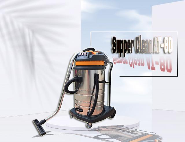 Model Máy hút bụi công nghiệp Supper Clean AT-80