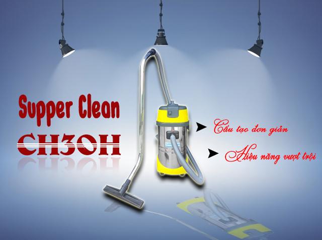 Máy hút bụi công nghiệp loại nhỏ Supper Clean CH30H