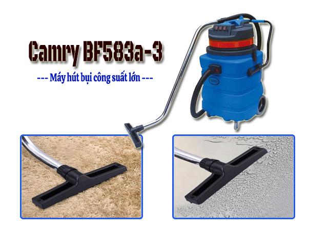 Camry BF583a-3 có khả năng hút khô, hút nước hiệu quả