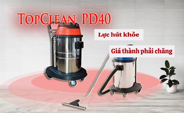 TopClean PD40 phù hợp sử dụng trong nhiều không gian