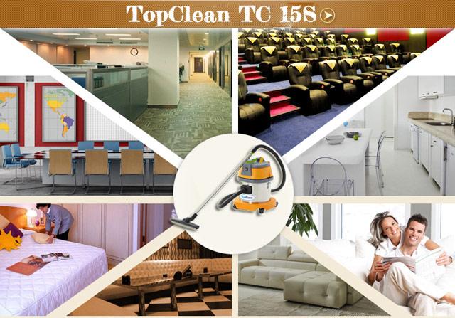 Ứng dụng rộng rãi của máy hút bụi TopClean TC 15S