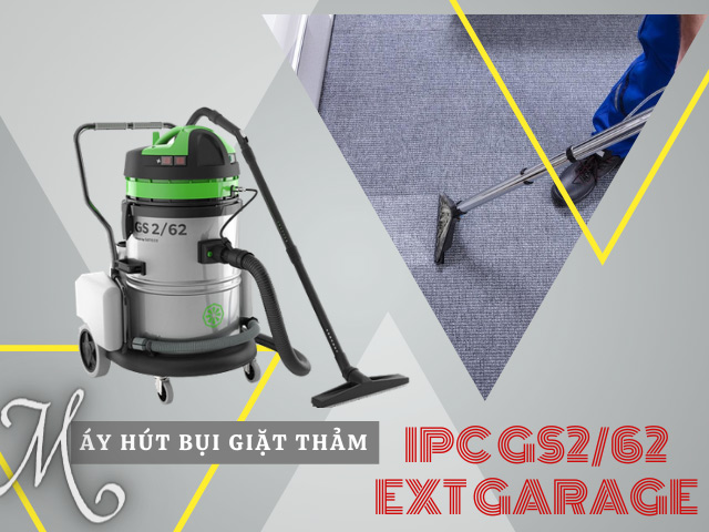 Model máy hút bụi giặt thảm IPC GS2/62 EXT GARAGE có gì nổi bật?