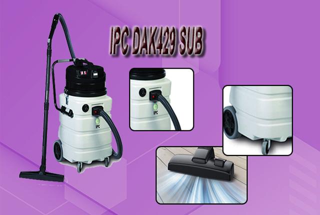 Máy hút bụi hút nước IPC DAK429 SUB