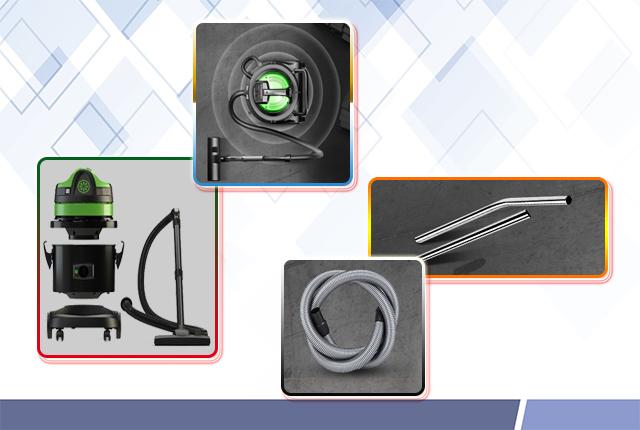 Các bộ phận của máy hút bụi khô IPC gia đình GP 1/1 ECO A