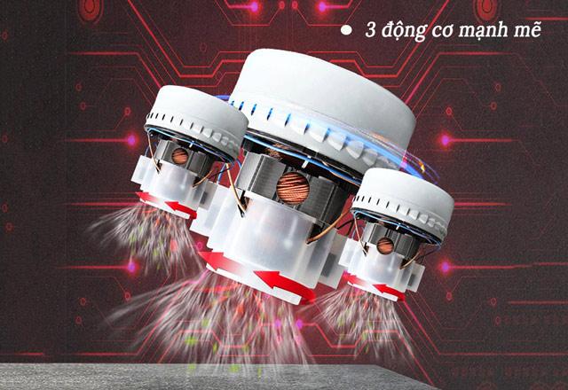 3 động cơ mạnh mẽ của IPC GC3/107W&D