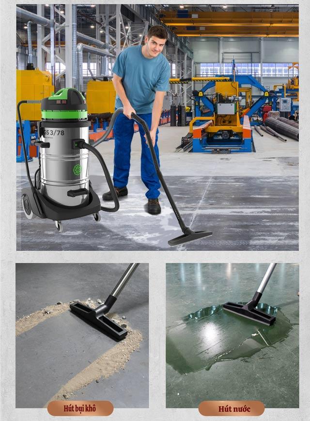 IPC GS3/78 W&D hút khô, nước hiệu quả