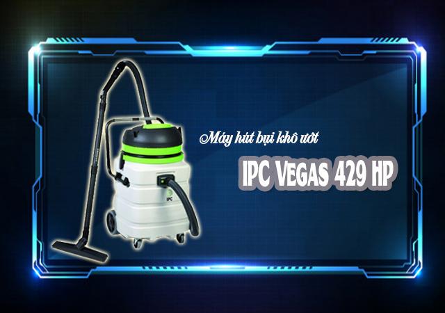 Máy hút bụi khô ướt IPC Vegas 429 HP