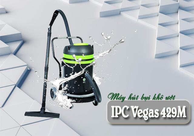 Máy hút bụi khô ướt IPC Vegas 429M