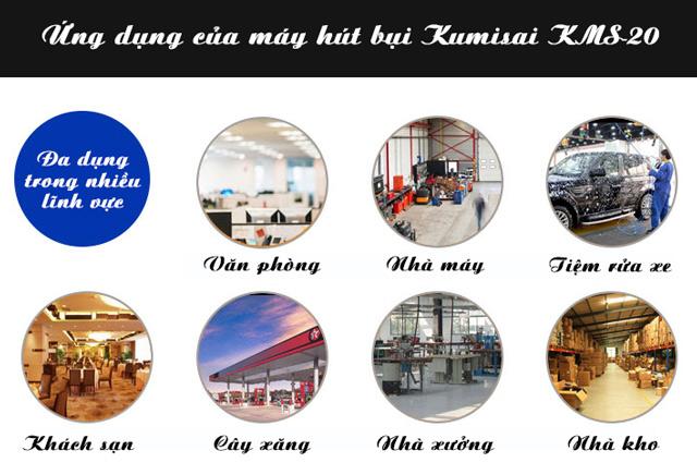 May hut bui Kumisai KMS20