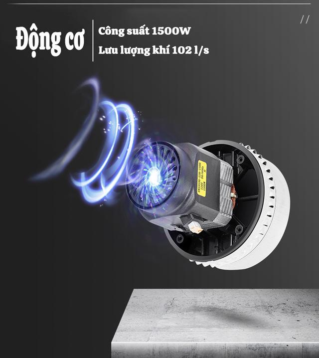 Máy hút bụi công nghiệp loại nhỏ Kungfu Clean KF 20