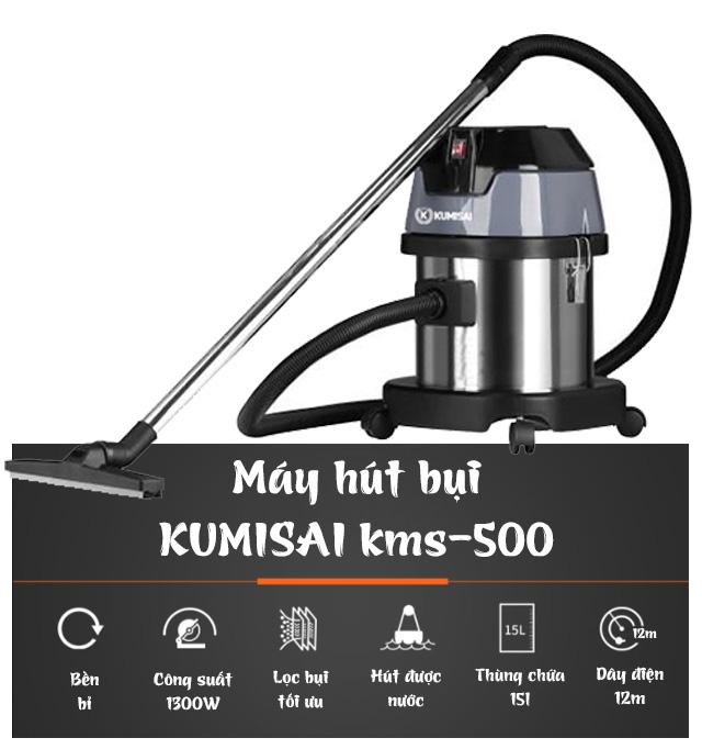 Máy hút bụi loại nhỏ Kumisai KMS-500
