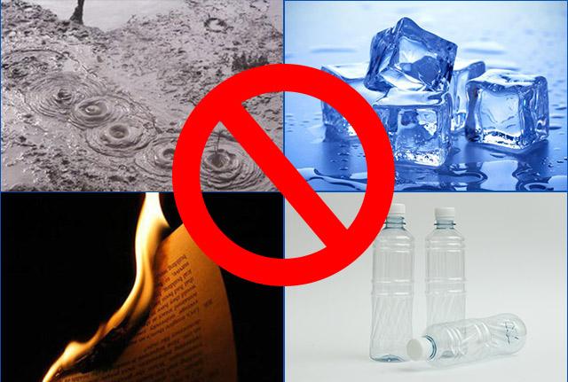 Không dùng máy để hút các chất thải nguy hiểm
