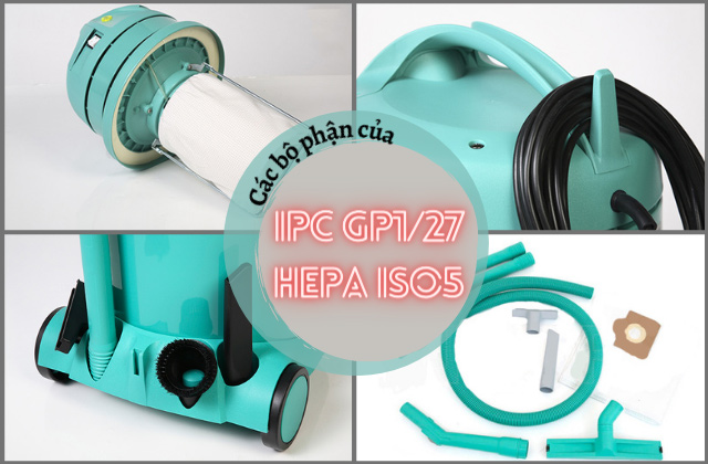 Các bộ phận của IPC GP1/27 HEPA ISO5