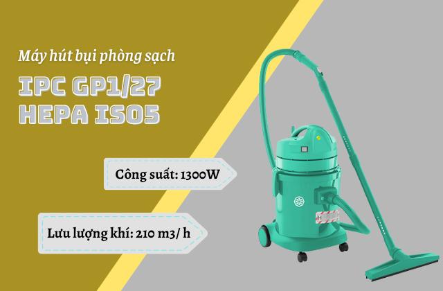 Máy hút bụi phòng sạch IPC GP1/27 HEPA ISO5