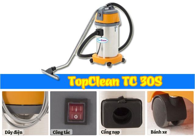Một số bộ phận của TopClean TC 30S