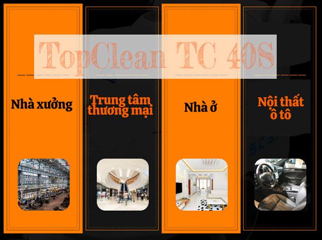 Ứng dụng rộng rãi của TopClean TC 30S
