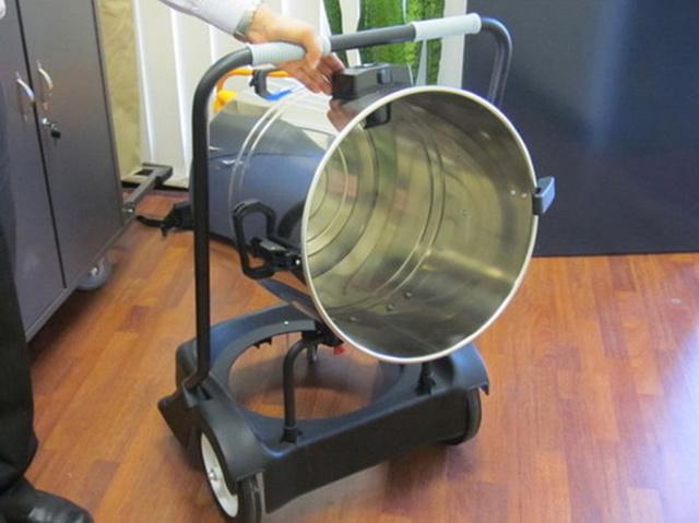Thùng chứa máy hút bụi cho nhà xưởng