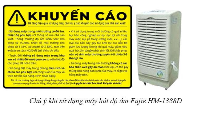Hướng dẫn sử dụng máy hút độ ẩm Fujie HM-1388D