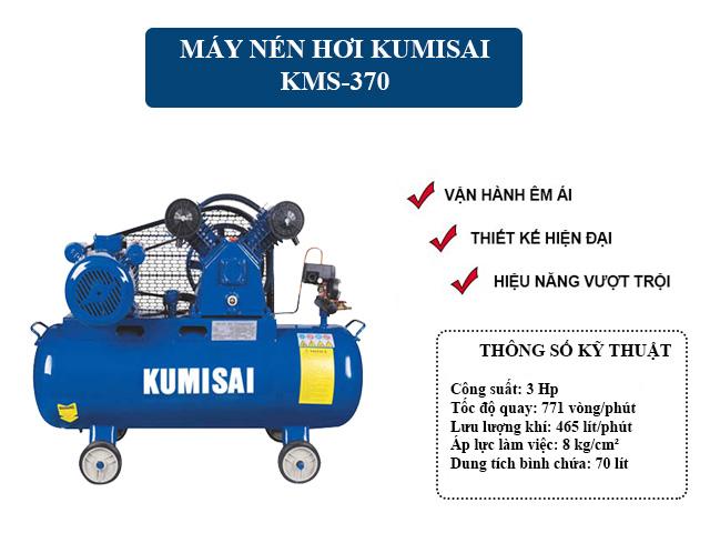 Model nén hơi Kumisai KMS-370