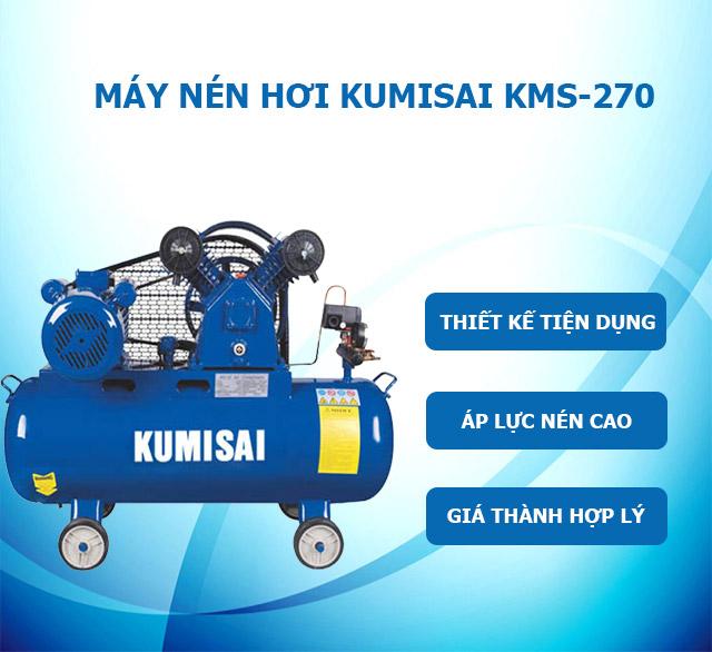 Máy nén khí Kumisai KMS-270