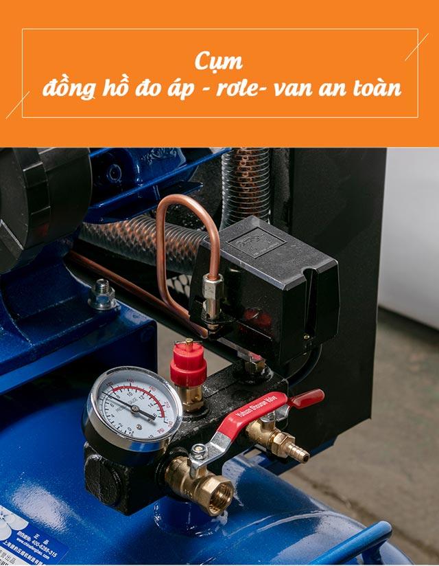 Cụm đồng hồ đo áp máy nén Palada PA-10300A