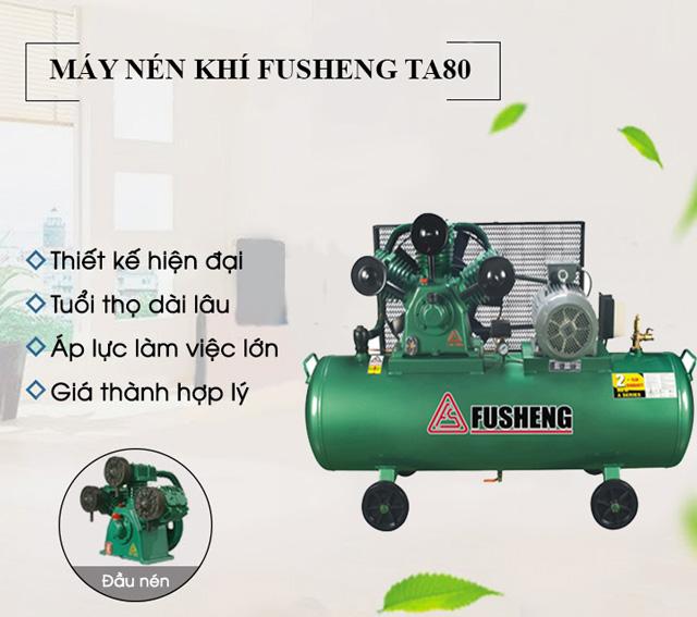 Model máy nén khí Fusheng TA80