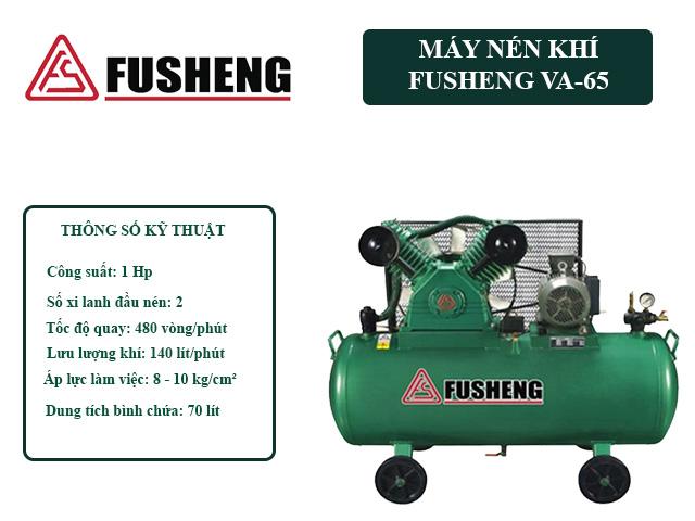 Model nén khí Fusheng VA-65