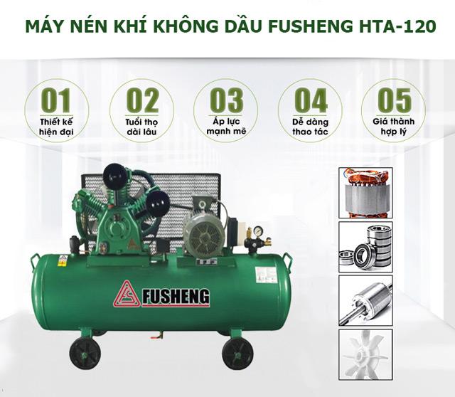 Model nén khí không dầu Fusheng HTA-120