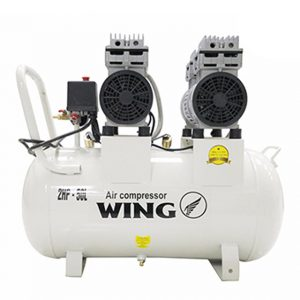 Máy nén khí không dầu giảm âm Wing TW-OF750X2-50L