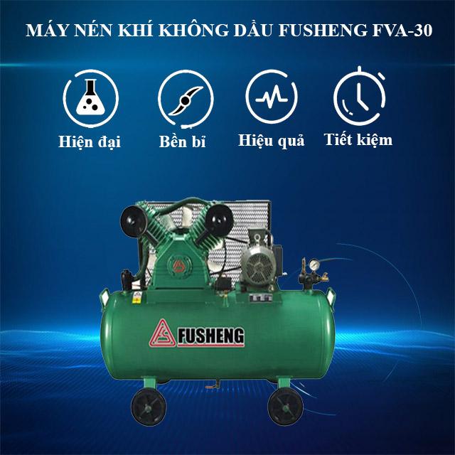 Model nén khí không dau Fusheng FVA-30