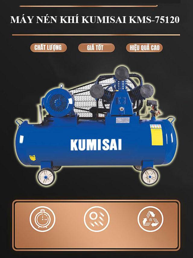 Thiết bị khí nén Kumisai KMS-75120