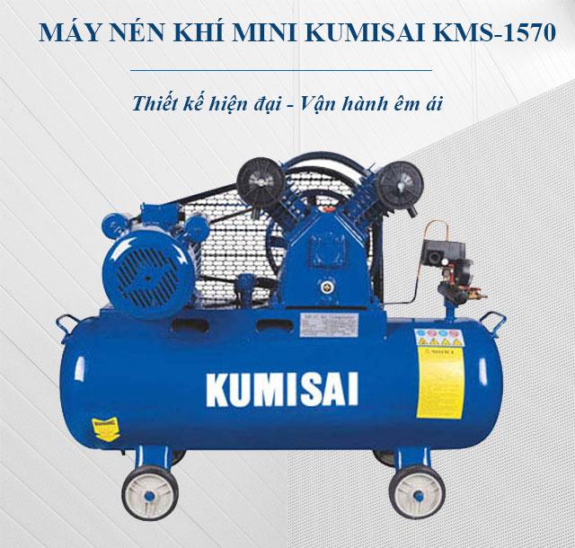 Máy nén khí mini Kumisai KMS-1570 - Sự lựa chọn hàng đầu của người dùng