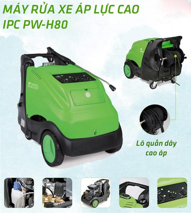 Máy phun rửa xe áp lực cao IPC PW-H80