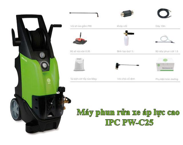 Máy phun rửa xe áp lực cao IPC PW-C25