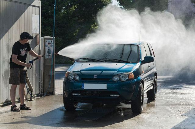 Máy phun rửa xe nóng lạnh IPC SG 45 5010M
