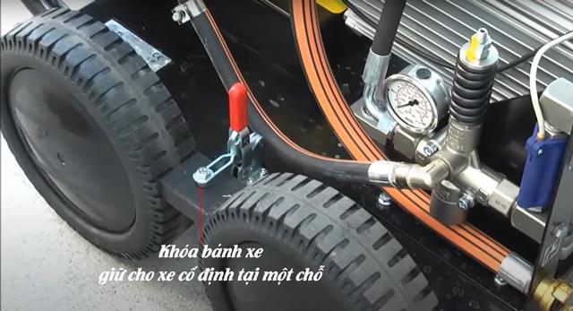 Máy phun rửa xe nước lạnh IPC ABSOLUTE-C S 5015P T