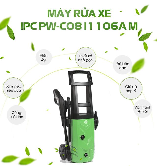 Máy phun rửa xe nước lạnh IPC PW-C08 I1106A M
