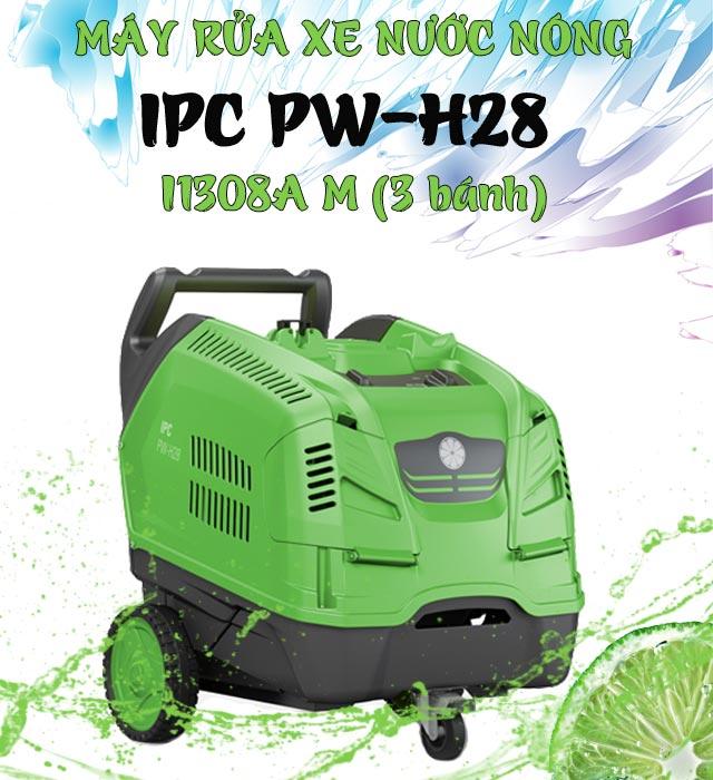 Máy phun rửa xe nước nóng IPC PW-H28 I1308A M (3 bánh)