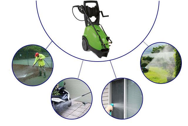 Ứng dụng của máy phun rửa xe cao áp IPC PW-C40 1 pha
