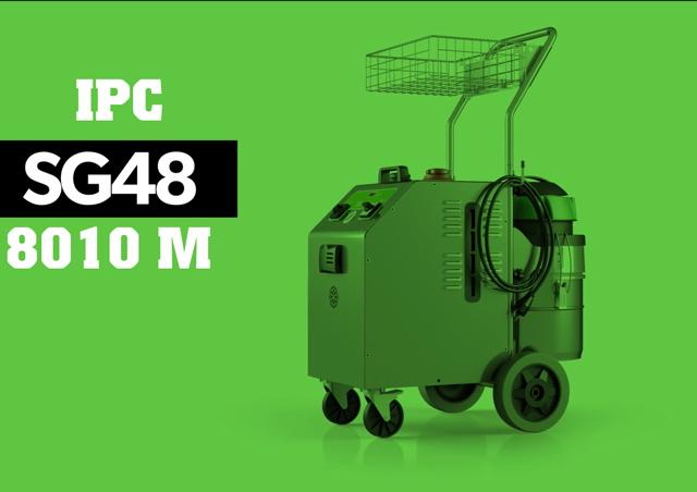 Máy bơm rửa hơi nước nóng IPC SG-48 8010 M