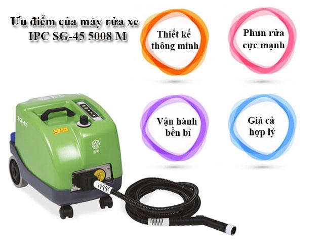 Những ưu điểm nổi trội của máy rửa xe IPC SG-45 5008 M