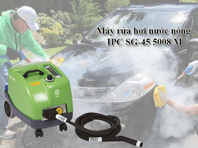 Máy rửa hơi nước nóng IPC SG-45 5008 M
