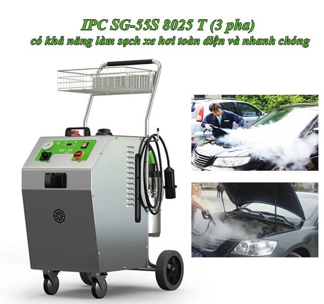 máy rửa xe nước nóng IPC SG-55S 8025 T (3 pha) giá rẻ