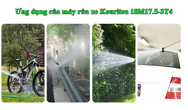 máy xịt rửa xe Kouritsu 18M17.5-3T4