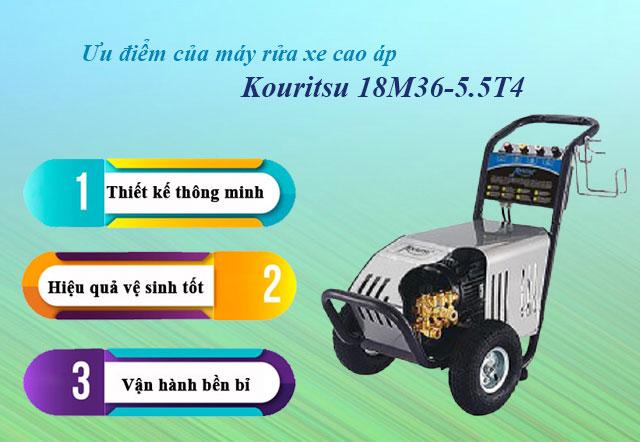 máy rửa xe Kouritsu 18M36-5.5T4
